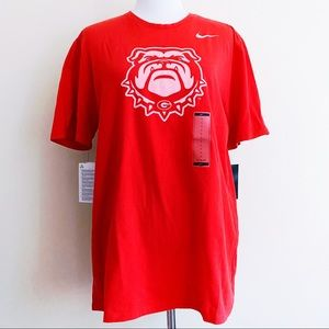 Nike NCAA University of Georgia Bulldogs T-Shirt
